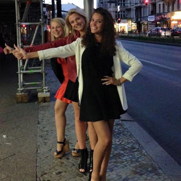 Valentina Pahde, Nadine Menz und Iris Mareike Steen eroberten Berlin