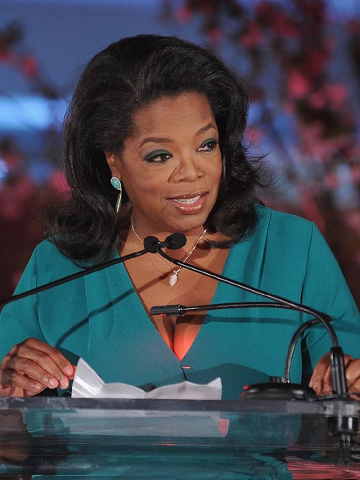 """Die Top 50 der 100 mächtigsten Frauen der Welt,Platz 11: Oprah Winfrey (58), Moderatorin der erfolgreichsten Talkshow des amerikanischen Fernsehens (""""The Oprah Winfrey Show"""""""