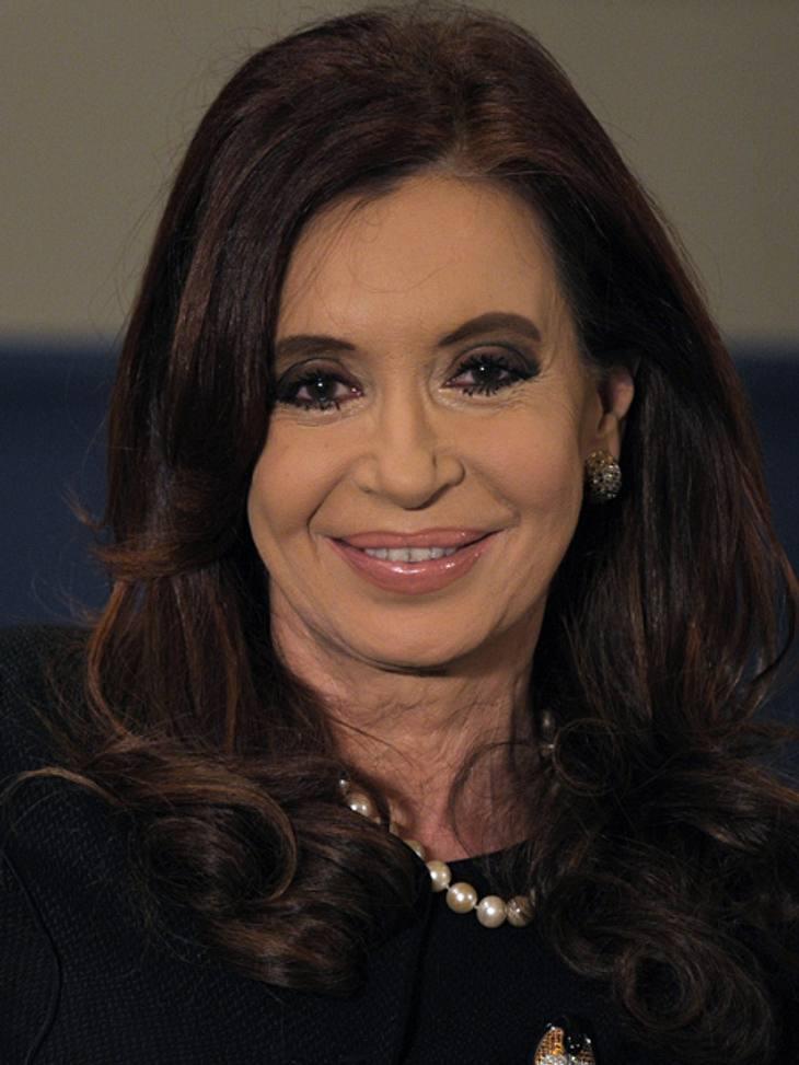 Die Top 50 der 100 mächtigsten Frauen der Welt,Platz 16: Cristina Fernandez de Kirchner (59), Präsidentin Argentiniens