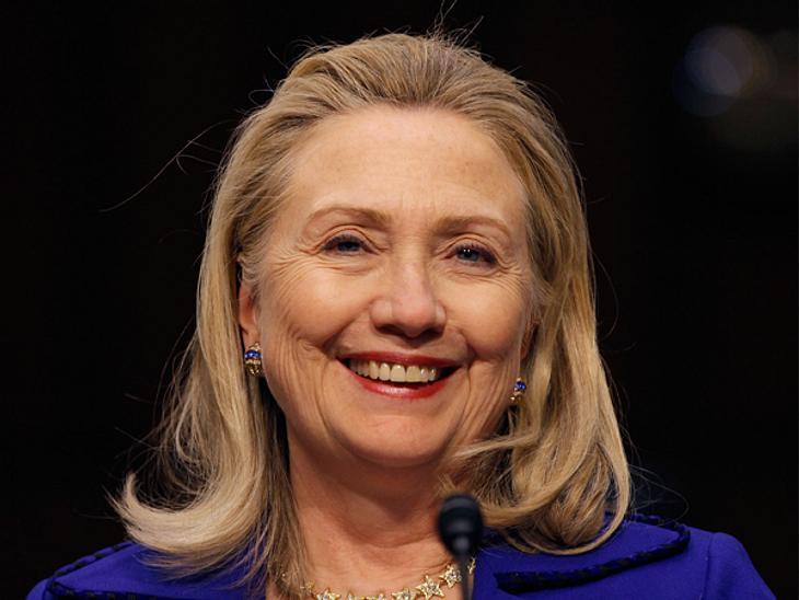 Die Top 50 der 100 mächtigsten Frauen der Welt,Platz 2: Hillary Clinton (64), Außenministerin der Vereinigten Staaten