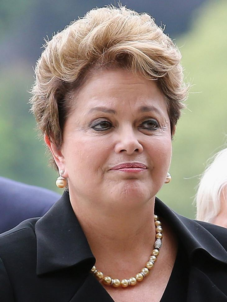 Die Top 50 der 100 mächtigsten Frauen der Welt,Platz 3: Dilma Rousseff (64), Präsidentin Brasiliens