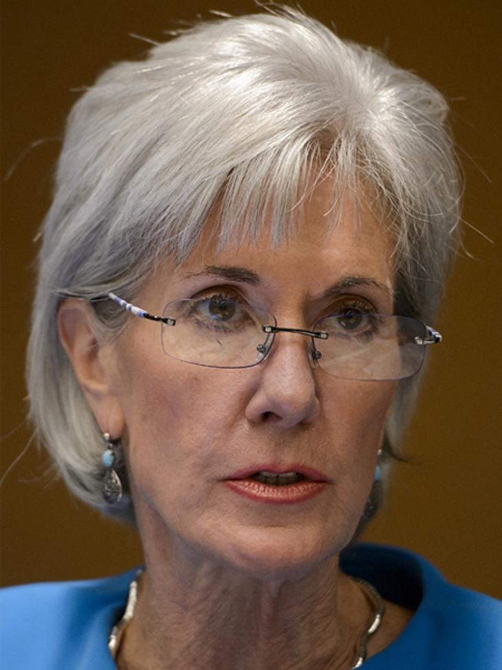 Die Top 50 der 100 mächtigsten Frauen der Welt,Platz 31: Kathleen Sebelius (64), Gesundheitsministerin der Vereinigten Staaten