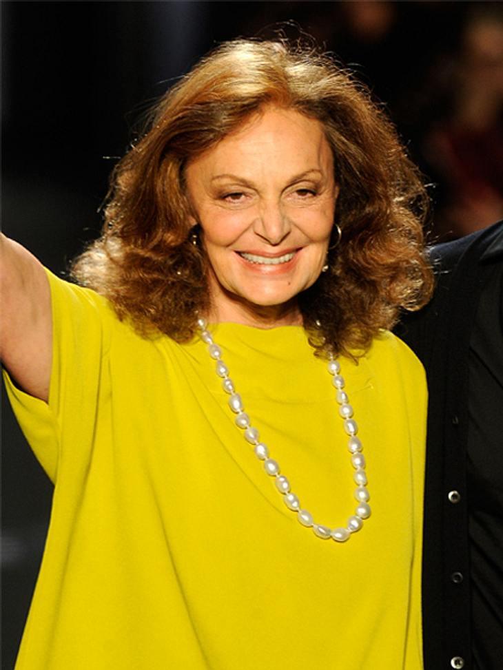 Die Top 50 der 100 mächtigsten Frauen der Welt,Platz 33: Diane Von Furstenberg (65), belgisch-amerikanische Modeschöpferin