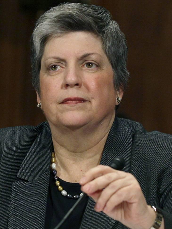 Die Top 50 der 100 mächtigsten Frauen der Welt,Platz 9: Janet Napolitano (54), Ministerin für Innere Sicherheit der Vereinigten Staaten