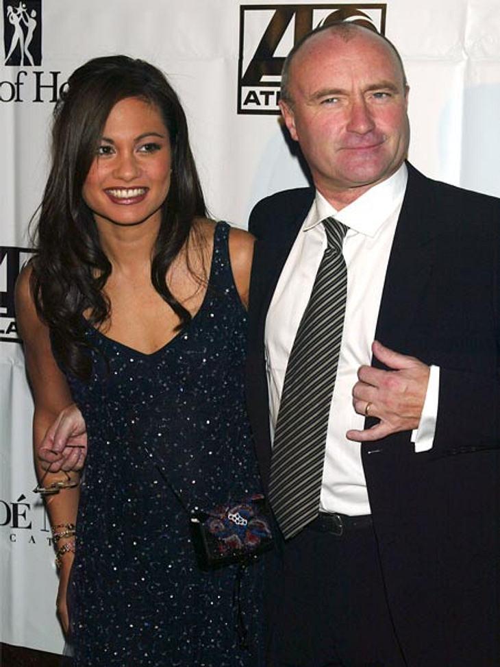 Prominente Paare mit großem AltersunterschiedDie Scheidung von seiner Ex-Frau Orianne Cevey (38) kostete Phil Collins (61) eine Rekordsumme von 32 Millionen Euro. Dies war bereits die dritte Scheidung des Sängers. War der große Altersunters