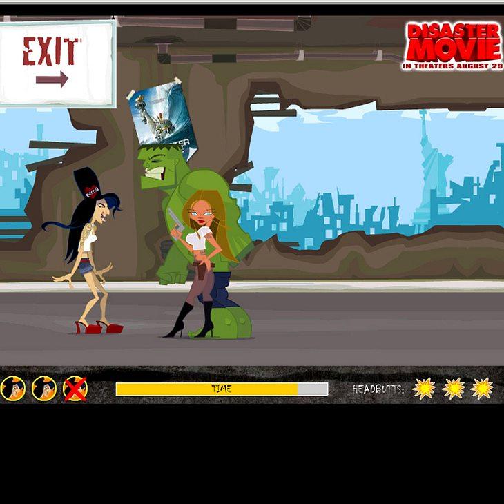 Mit Pixel-Amy gegen Riesenmonster