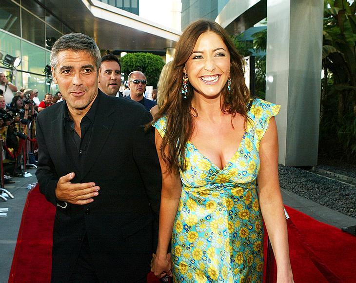 Zwischen 2000 und 2004 führten George Clooney und Lisa Snowdon eine On-Off-Beziehung. Ob zwischen den beiden noch einmal die Funken fliegen könnten?