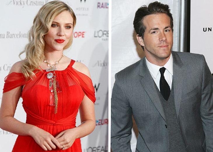 Bis zum Mai waren Scarlett Johansson und Ryan Reynolds nur Freund und Freundin, dann plötzlich Verlobte und Verlobter - und jetzt ein frisch gebackenes Ehepaar!
