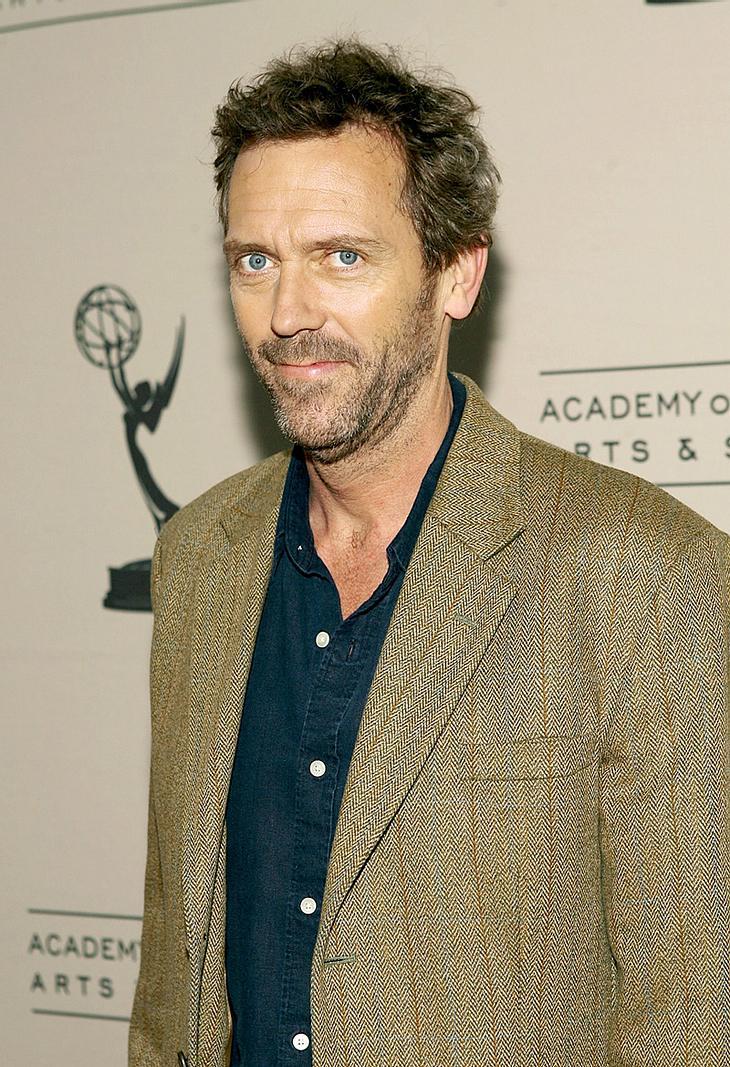 Glück gehabt! Nach einem Einbruch in seine neue Bude in den Hollywood Hills fehlten Hugh Laurie nur sein Laptop und ein paar andere persönliche Gegenstände