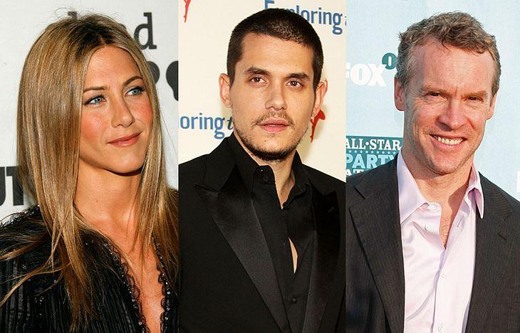 Gerade war Jennifer Aniston noch frustrierte Single-Frau, jetzt reißen sich angeblich gleich zwei Männer darum, das Herz der Schauspielerin erobern zu dürfen - Tate Donovan und John Mayer!