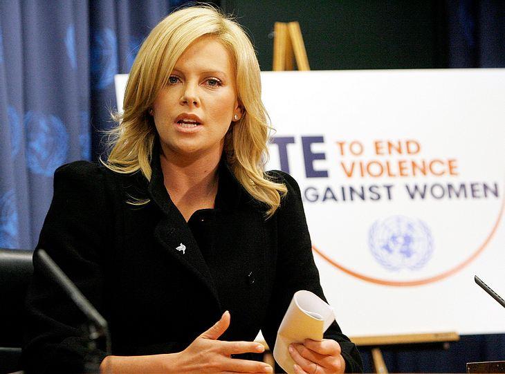 Charlize Theron wurde gerade zu einer der neuen Friedensbotschafter für die Vereinten Nationen ernannt