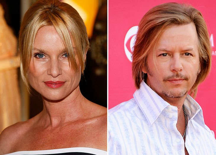 Ist David Spade der neue Herzbube von Nicollette Sheridan? Immerhin hing er bereits an den Lippen der Schauspielerin...