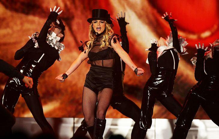 """Britney Spears performte bei der """"Bambi""""-Verleihung in Offenburg ihre aktuelle Single """"Womanizer"""""""