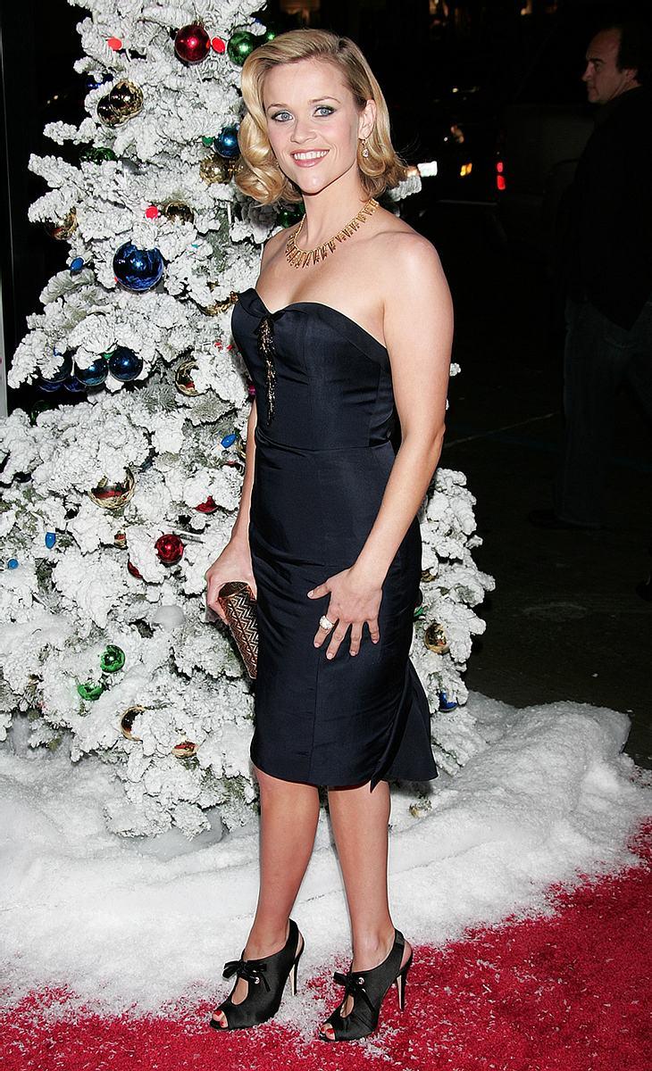 Reese Witherspoon will nur das Beste für ihre Kids. Zu Weihnachten sollen sie deshalb höchstens ein oder zwei Geschenke pro Nase bekommen!