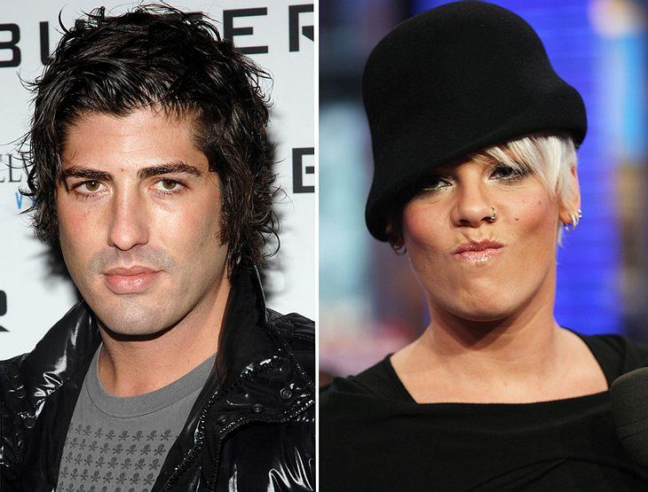 Mischa Bartons Ex Brandon Davis hat Stress mit Sängerin Pink - weil er beim Ausparken ihren Wagen rammte!