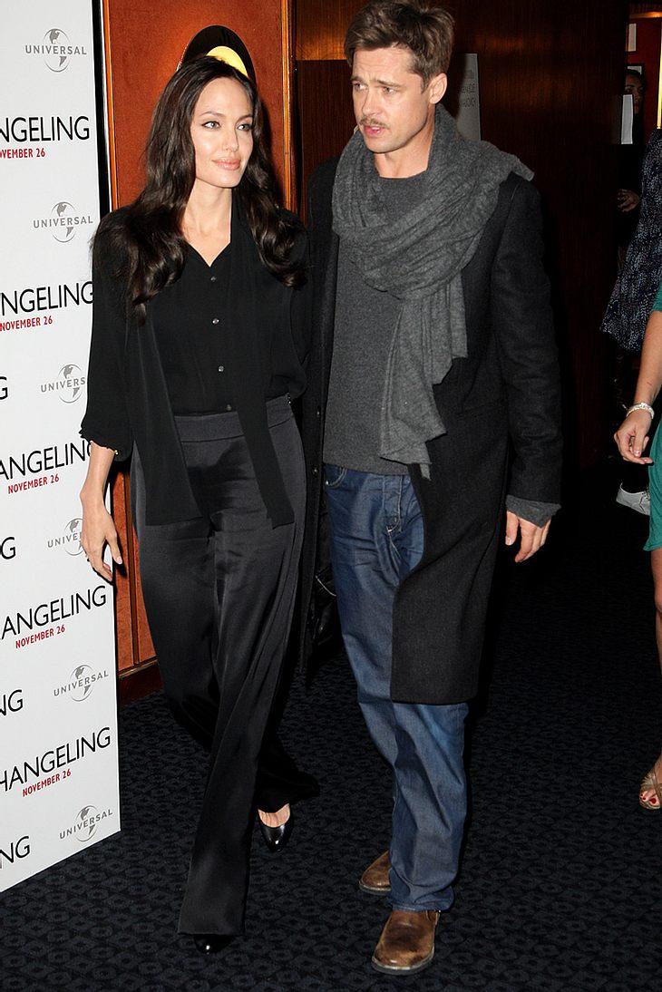Großzügig zur Weihnachtszeit: Angelina Jolie und Brad Pitt haben mal wieder für den guten Zweck gespendet