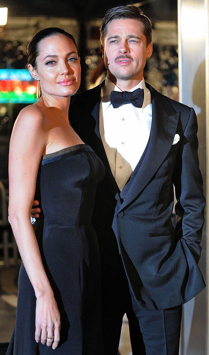 Angelina Jolie und Brad Pitt gibt es nur im Doppelpack - in jeder Hinsicht...