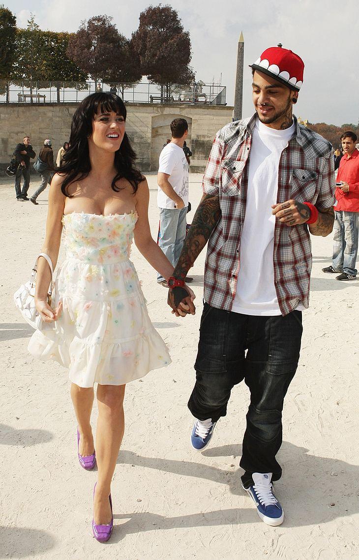 Verliebt sind Katy Perry und Freund Travis McCoy schon seit 2005, jetzt sollen sie angeblich auch verlobt sein...