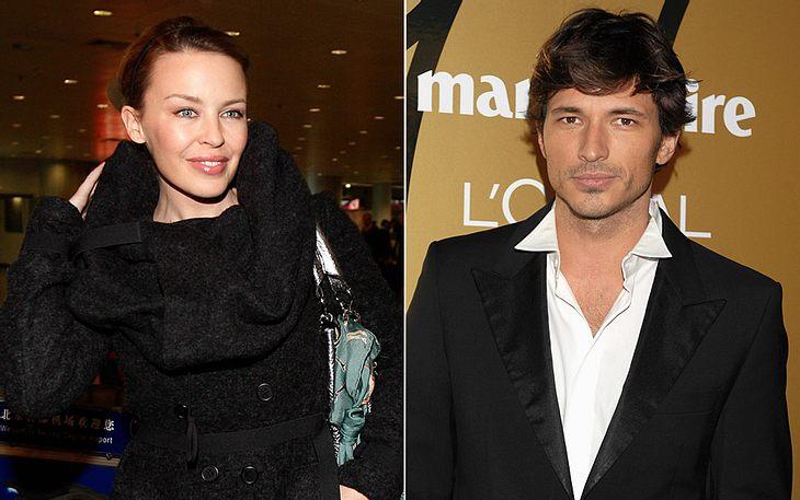 Kylie Minogue hat einen neuen Mann an ihrer Seite: das spanische Topmodel Andrés Velencoso Segura