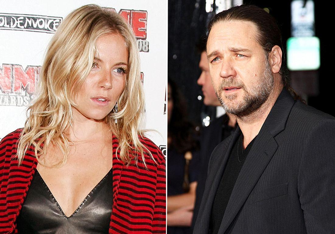 Wegen Russell Crowe soll Sienna Miller ihren Job los sein: Er wollte angeblich nicht mit ihr vor der Kamera stehen!