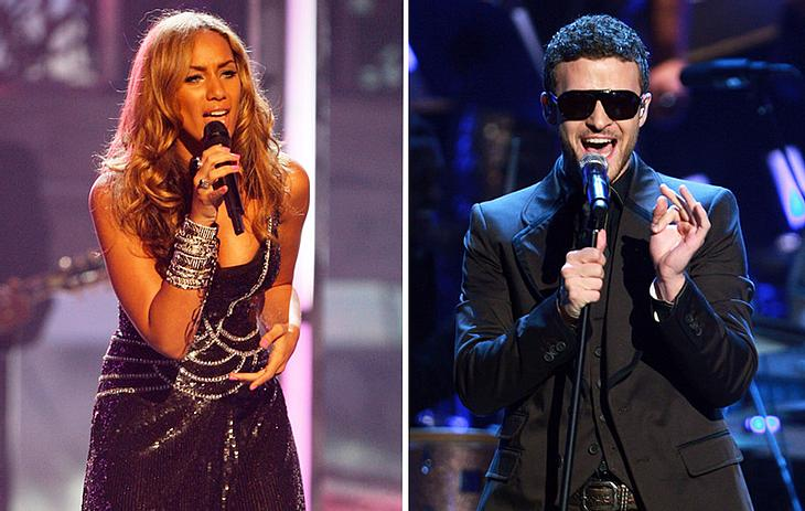 Leona Lewis und Justin Timberlake performen zusammen einen Song auf der Bühne - ein Bild, das schon bald Wirklichkeit werden könnte!