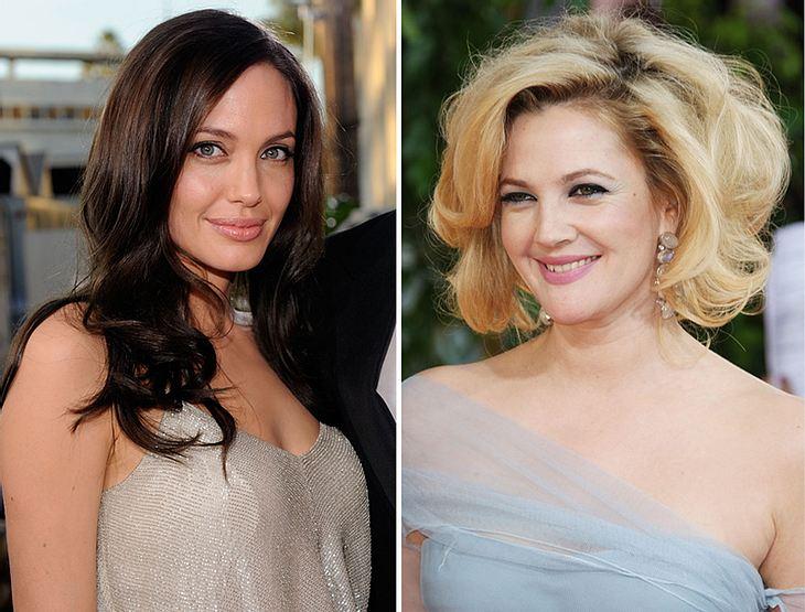 Kinder verbinden! Jüngstes Beispiel: Angelina Jolie und Drew Barrymore. Auf einer Party sollen sie sich angeregt über das Thema Adoption unterhalten haben