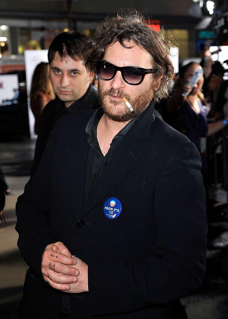 Spielt Joaquin Phoenix als Rapper die größte Rolle seines Lebens? Angeblich soll alles nur Show für die Medien sein...