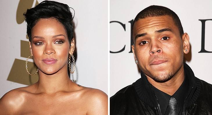 Rapper Chris Brown soll Freundin Rihanna während eines Streits übel zugerichtet haben...