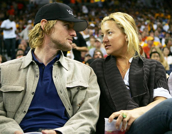 Owen Wilson und Kate Hudson bei einer Sportveranstaltung im Jahr 2007. Nach drei gescheiterten Liebes-Versuchen soll es das Ex-Paar jetzt noch einmal wagen wollen...