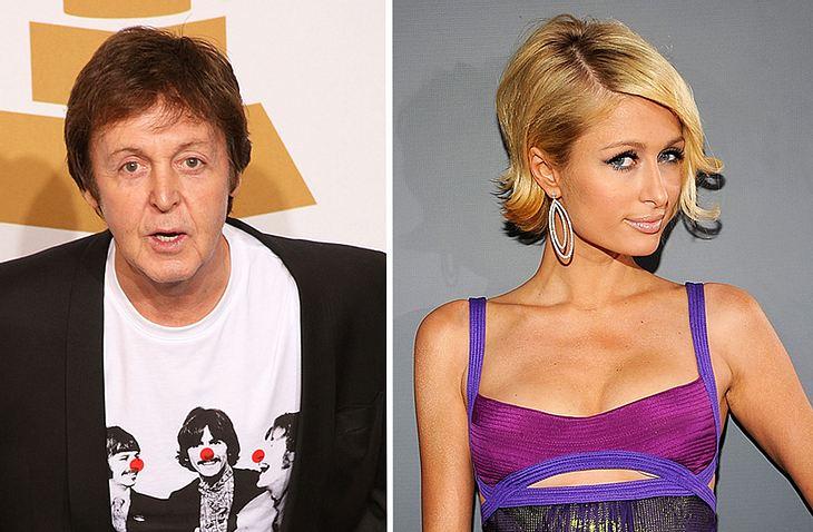 Da fällt einem nichts mehr ein: Paris Hilton hat Musiklegende Paul McCartney gebeten, ein Duett mit ihr aufzunehmen!