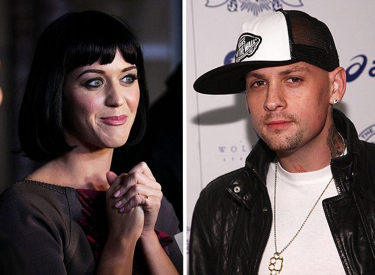 Geht da was? Auf einer Party in Las Vegas zeigten sich Katy Perry und Benji Madden äußerst vertraut...