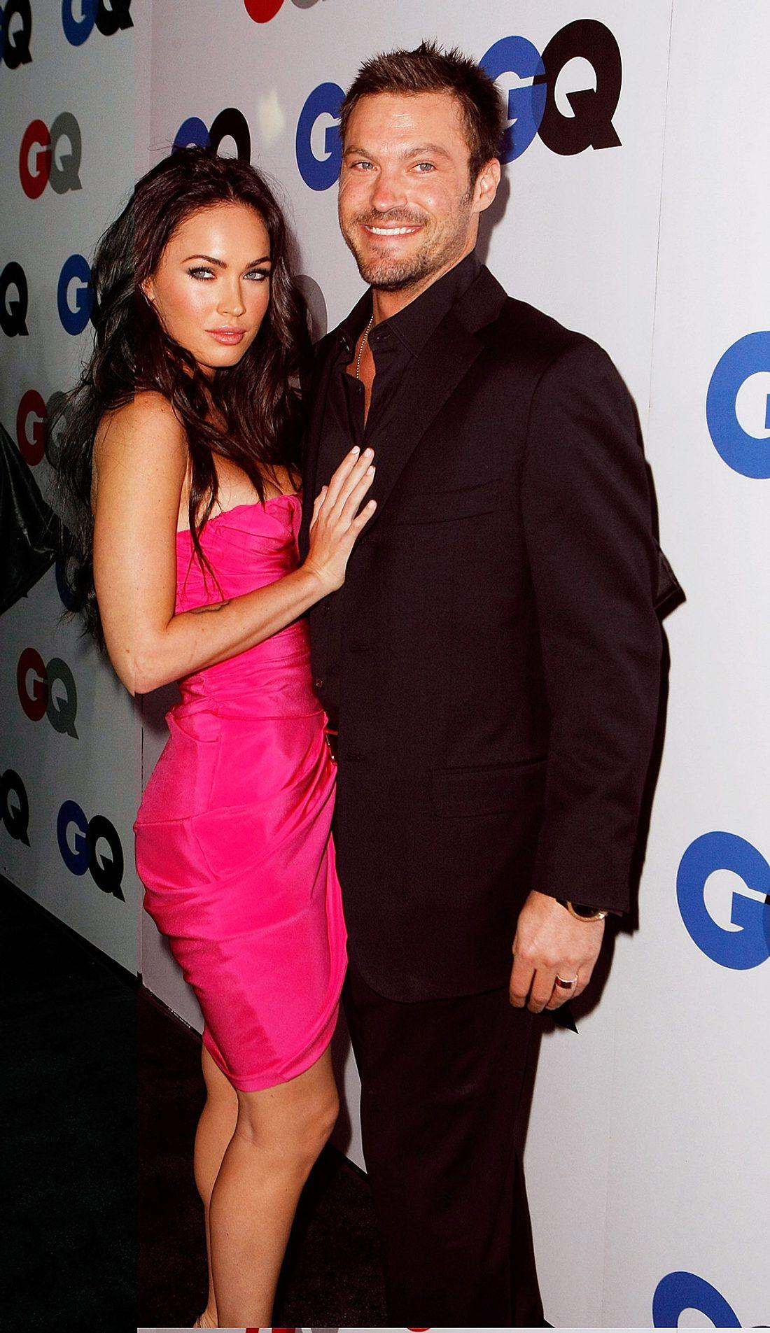 Megan Fox und ihr 13 Jahre älterer Ex-Verlobte Brian Austin Green Ende 2008. Zu diesem Zeitpunkt standen noch alle Zeichen auf Hochzeit!