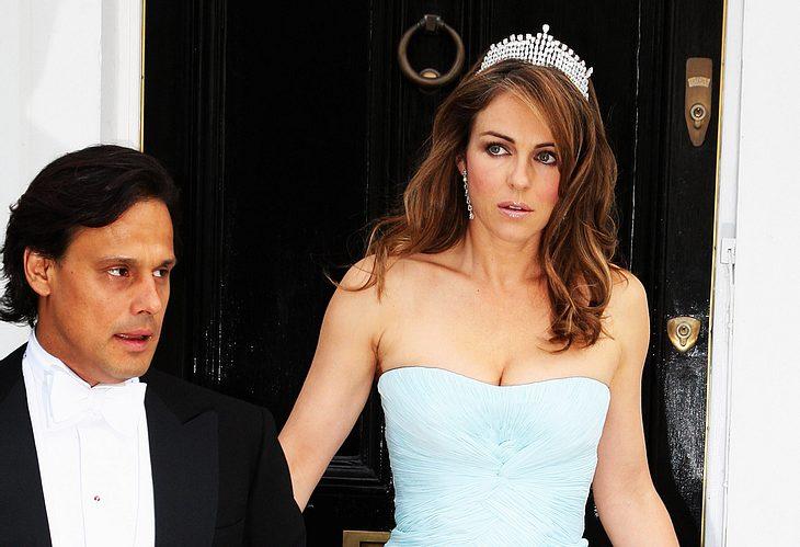 Schwere Ehe-Krise bei Liz Hurley und Arun Nayar? Angeblich soll er in der Beziehung mehr als unzufrieden sein...