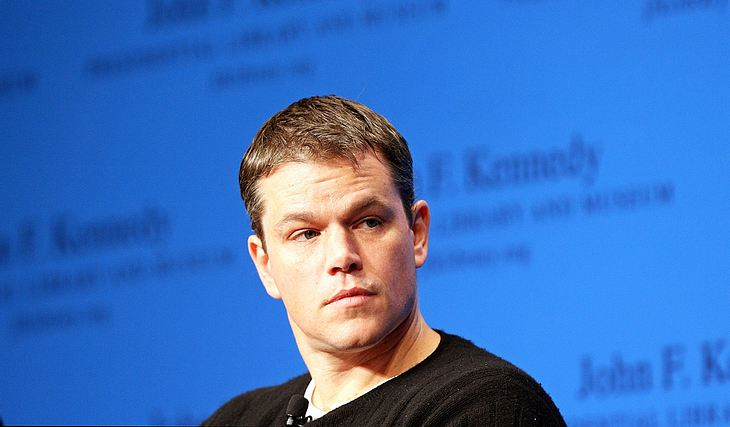 """Autsch! Weil Matt Damon besonders sportlich sein wollte, hat er sich beim Dreh von """"The Human Factor"""" am Bein verletzt"""