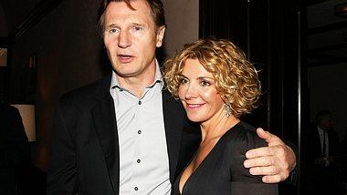 Liam Neeson bangt um das Leben seiner Frau: Natasha Richardson hatte einen schweren Skiunfall und musste mit schlimmen Kopfverletzungen ins Krankenhaus eingeliefert werden! - Foto: GETTY IMAGES