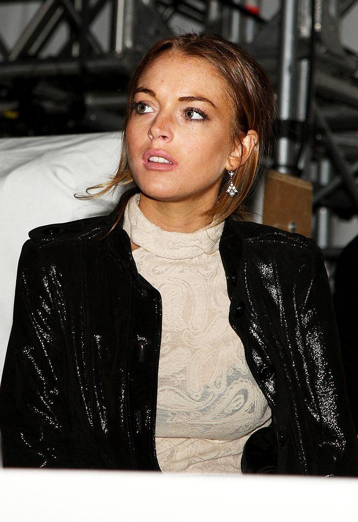 Lindsay Lohan sucht verzweifelt einen Job. Ihr aktueller Plan: Topmodel werden!