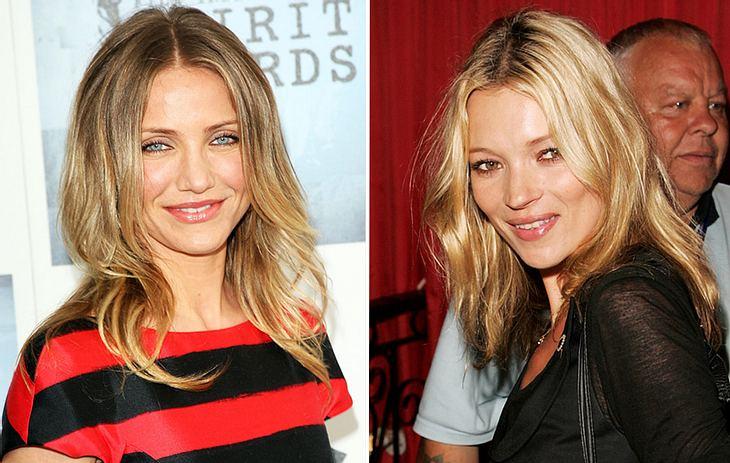 Wenn es um das perfekte Haarstyling geht, schaut sich Cameron Diaz gerne etwas von Kate Moss ab