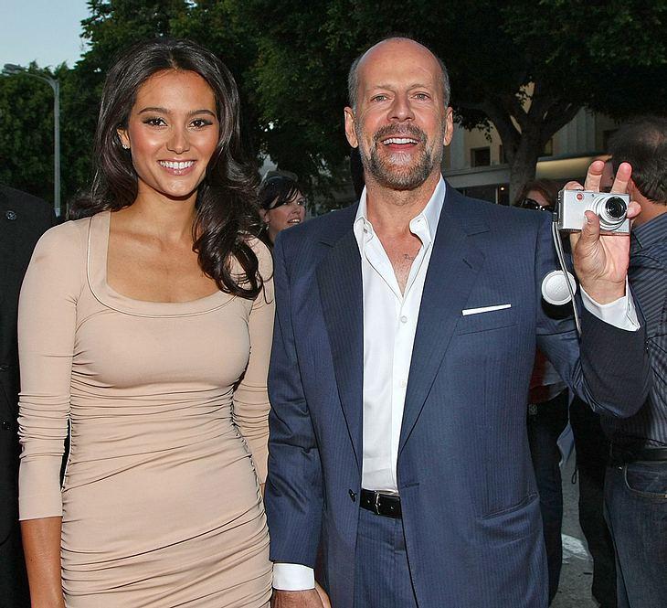 Bruce Willis hat seine Herzdame Emma Heming angeblich beim Casting gefunden