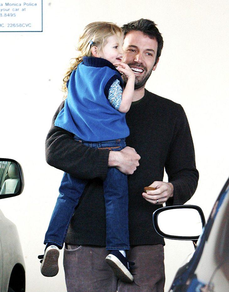 Dank Papa Ben Affleck kann Töchterchen Violet jetzt auf Deutsch fluchen!