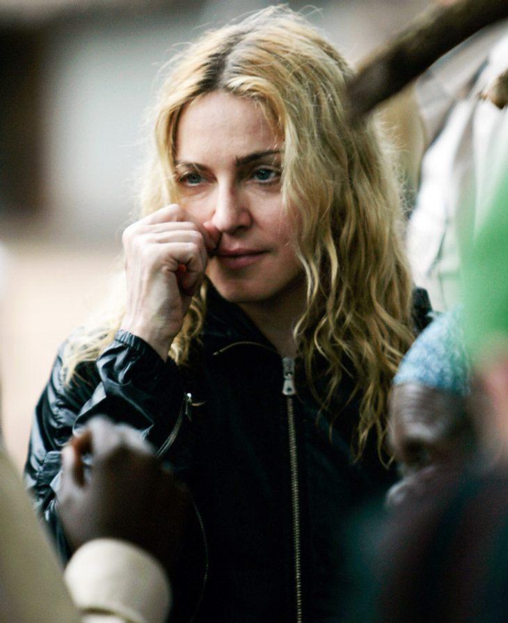 Auch wenn ihr Antrag, die kleine Mercy zu adoptieren, abgeschmettert worden ist: Madonna will noch nicht aufgeben!