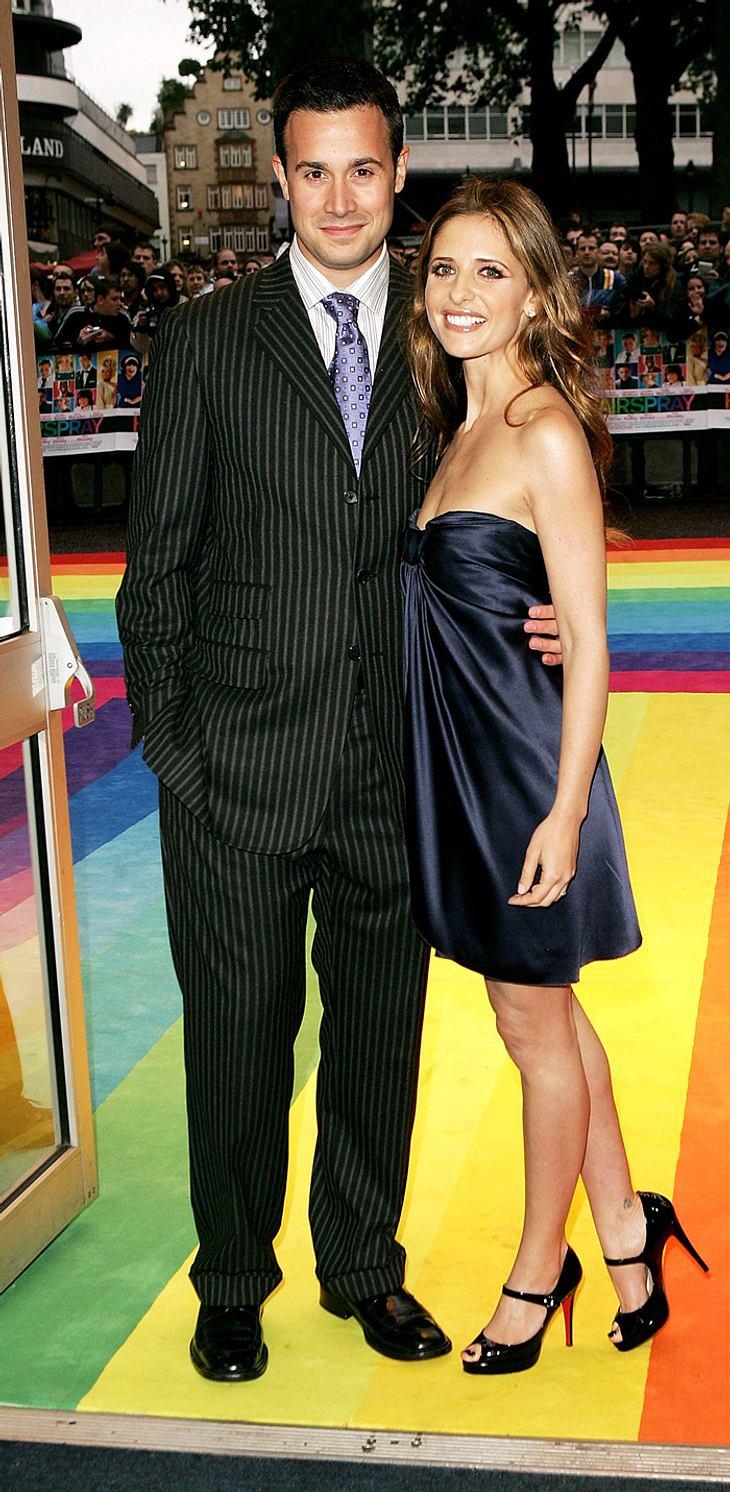 Sarah Michelle Gellar und Ehemann Freddie Prinze Jr. im Baby-Glück! Das Paar erwartet seinen ersten Knirps
