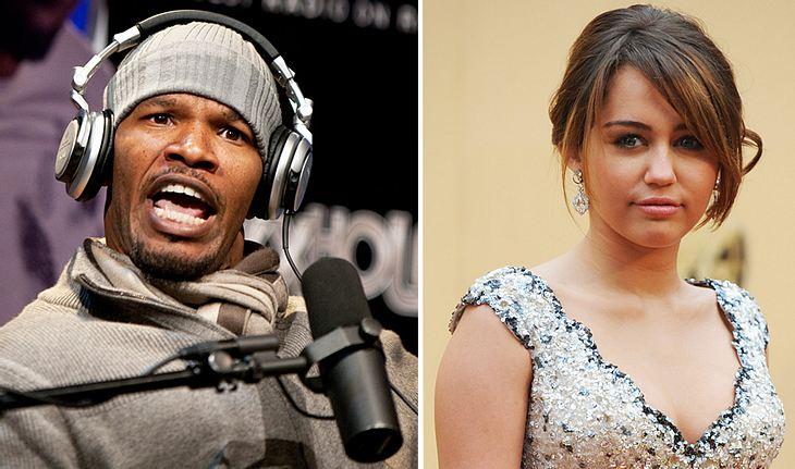 Autsch! In seiner Radioshow wetterte Jamie Foxx jetzt richtig fies gegen Miley Cyrus