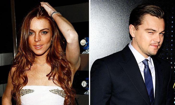 Flirten gegen den Herzschmerz: Lindsay Lohan soll sich an Leonardo DiCaprio rangemacht haben!
