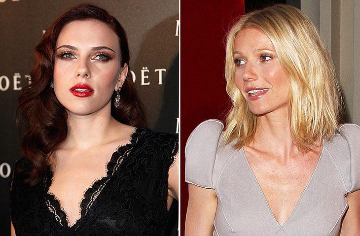 """Da ist Ärger im Verzug! Gwyneth Paltrow soll von ihrer """"Iron Man 2""""-Kollegin Scarlett Johansson total genervt sein..."""