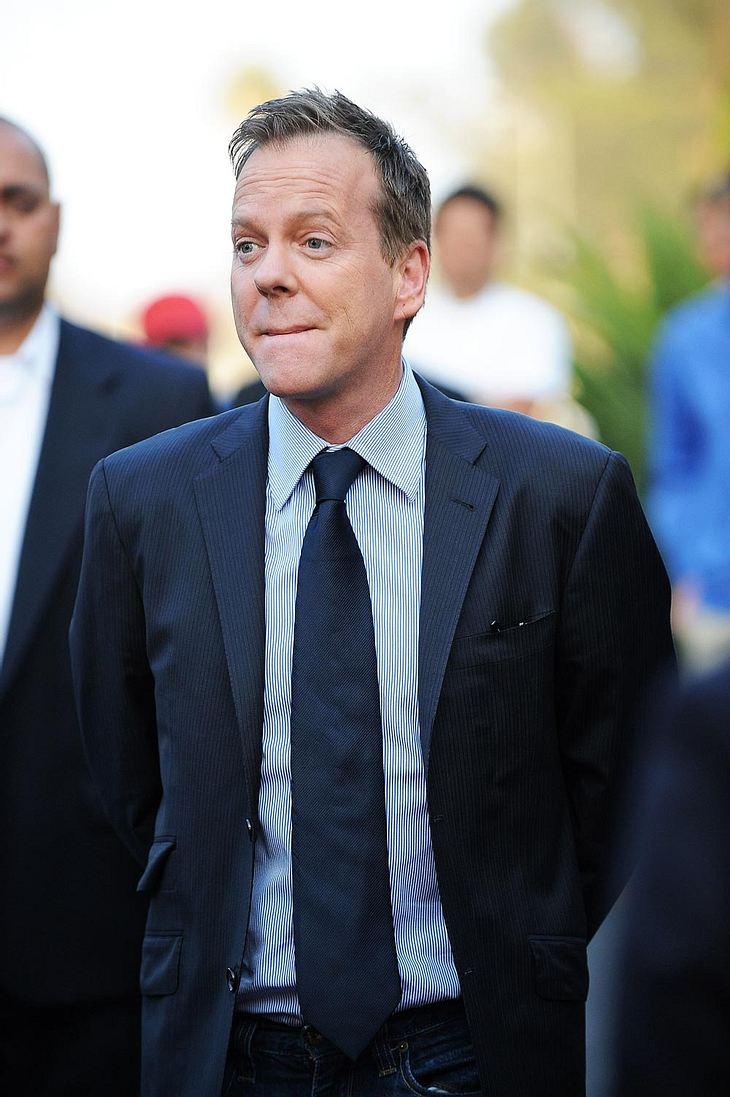 Wenn alles glatt läuft, könnte Kiefer Sutherland trotz seines Ausrasters Anfang Mai mit einem blauen Auge davon kommen...