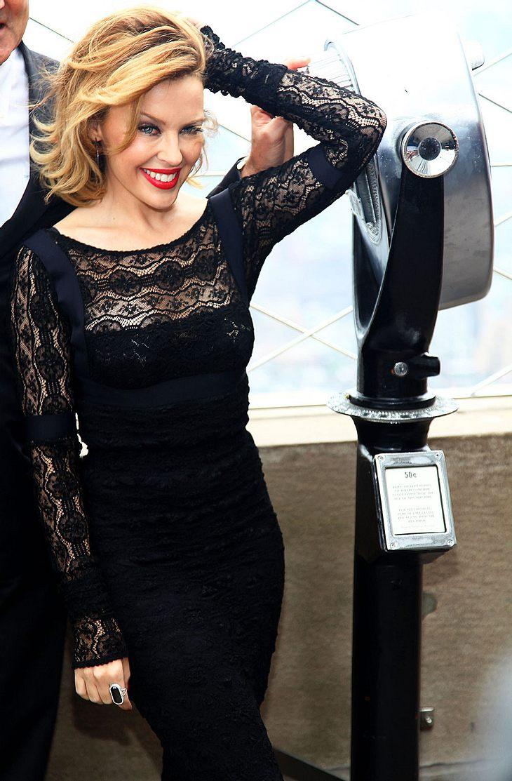 Verkündet Kylie Minogue bald ihre Hochzeit? Möglich wäre es allemal...