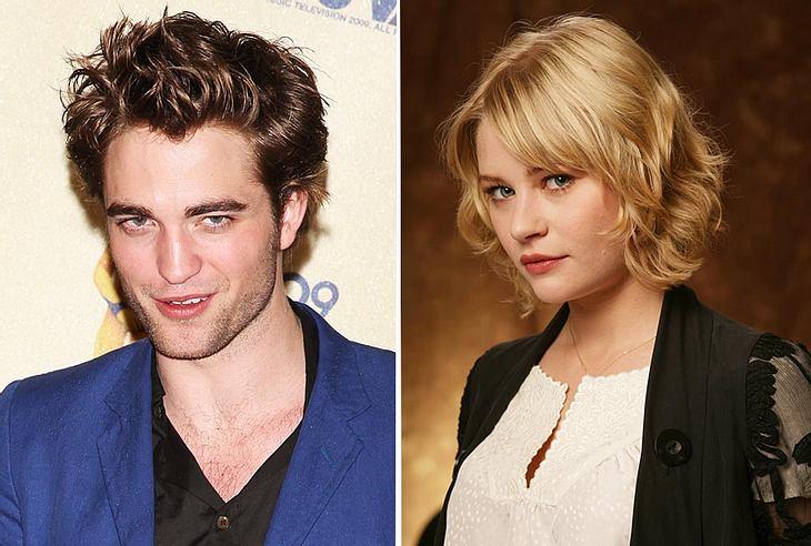 """Robert Pattinson hat nach Kristen Stewart eine neue hübsche Kollegin an seiner Seite: """"Lost""""-Star Emilie de Ravin!"""
