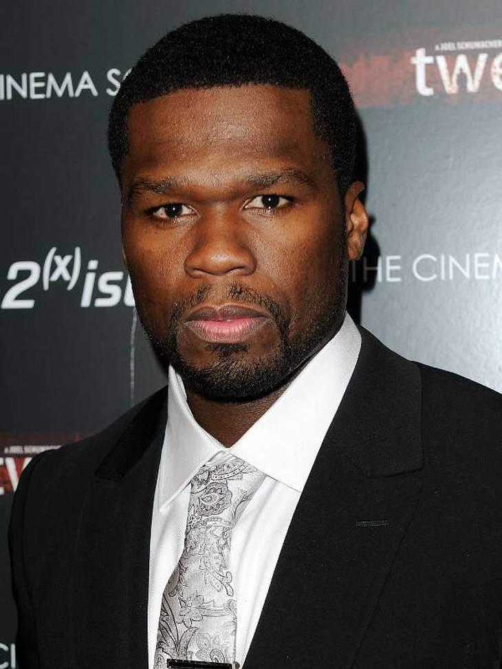 """In der Garderobe von 50 Cent müssen 24 Krabbencocktails stehen und Kondome der marke """"Rough Rider"""" bereit liegen."""