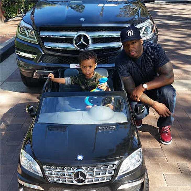 50 Cent: Mini-Mercedes für zweijährigen Sohn