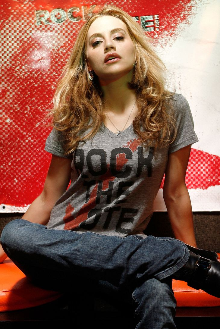 Brittany Murphy, die Sandwich-Diva